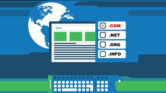 Регистрация на домейн през контролния панел